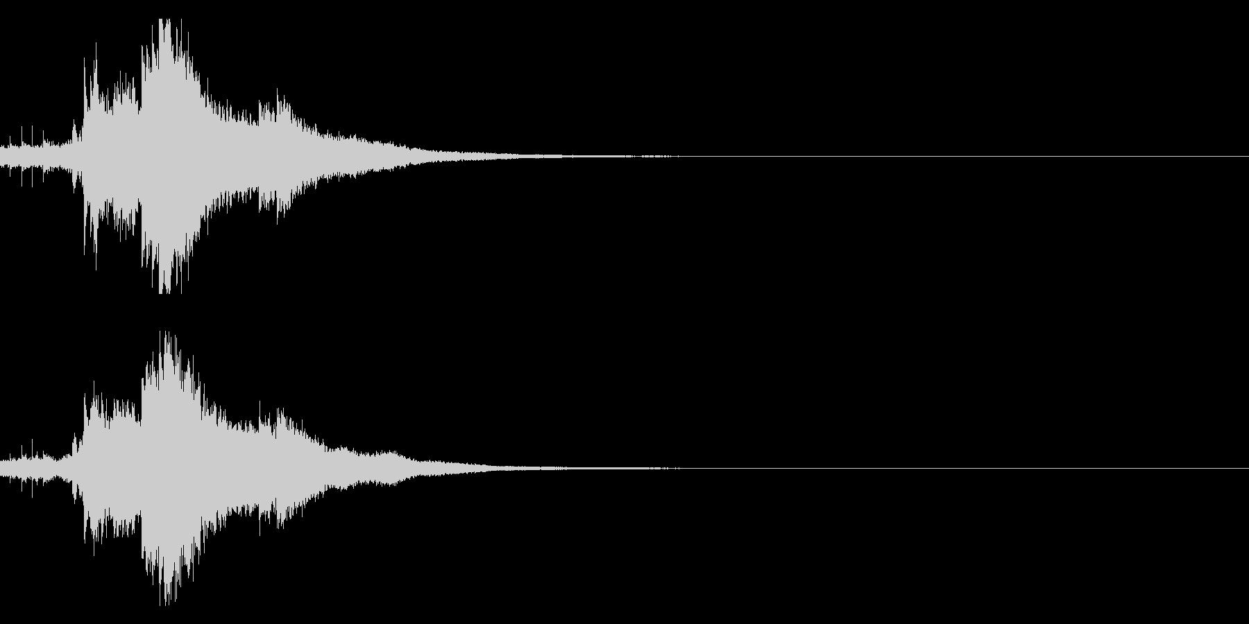 キラキラ♪クリア,達成,回復等に最適25の未再生の波形