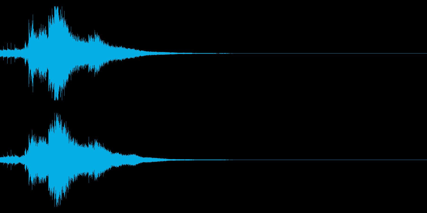 キラキラ♪クリア,達成,回復等に最適25の再生済みの波形