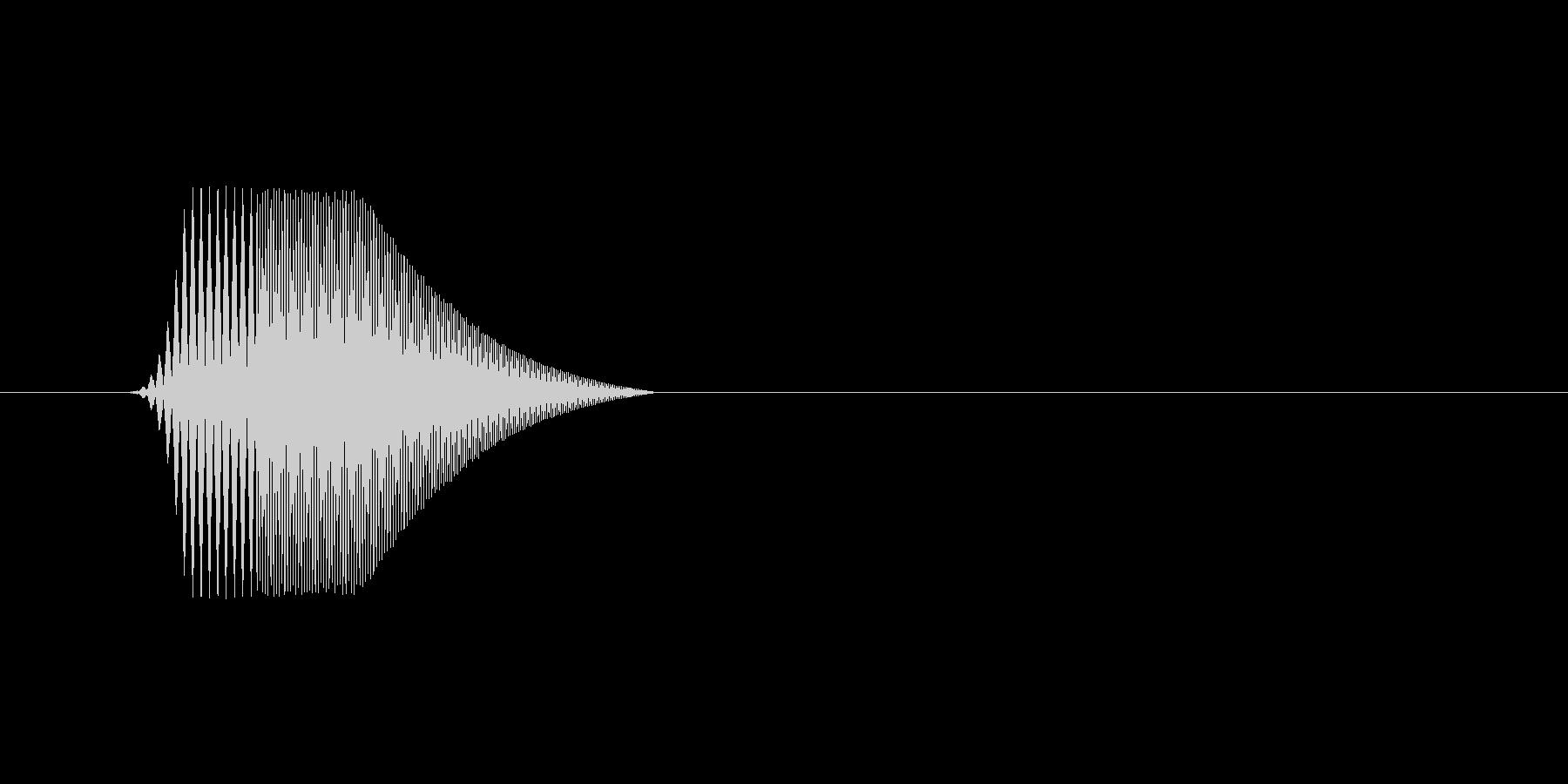 ファミコン風効果音カーソル系です 05の未再生の波形