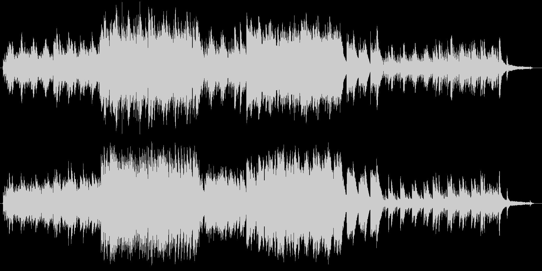 ちょっぴり切ないピアノとストリングスを…の未再生の波形