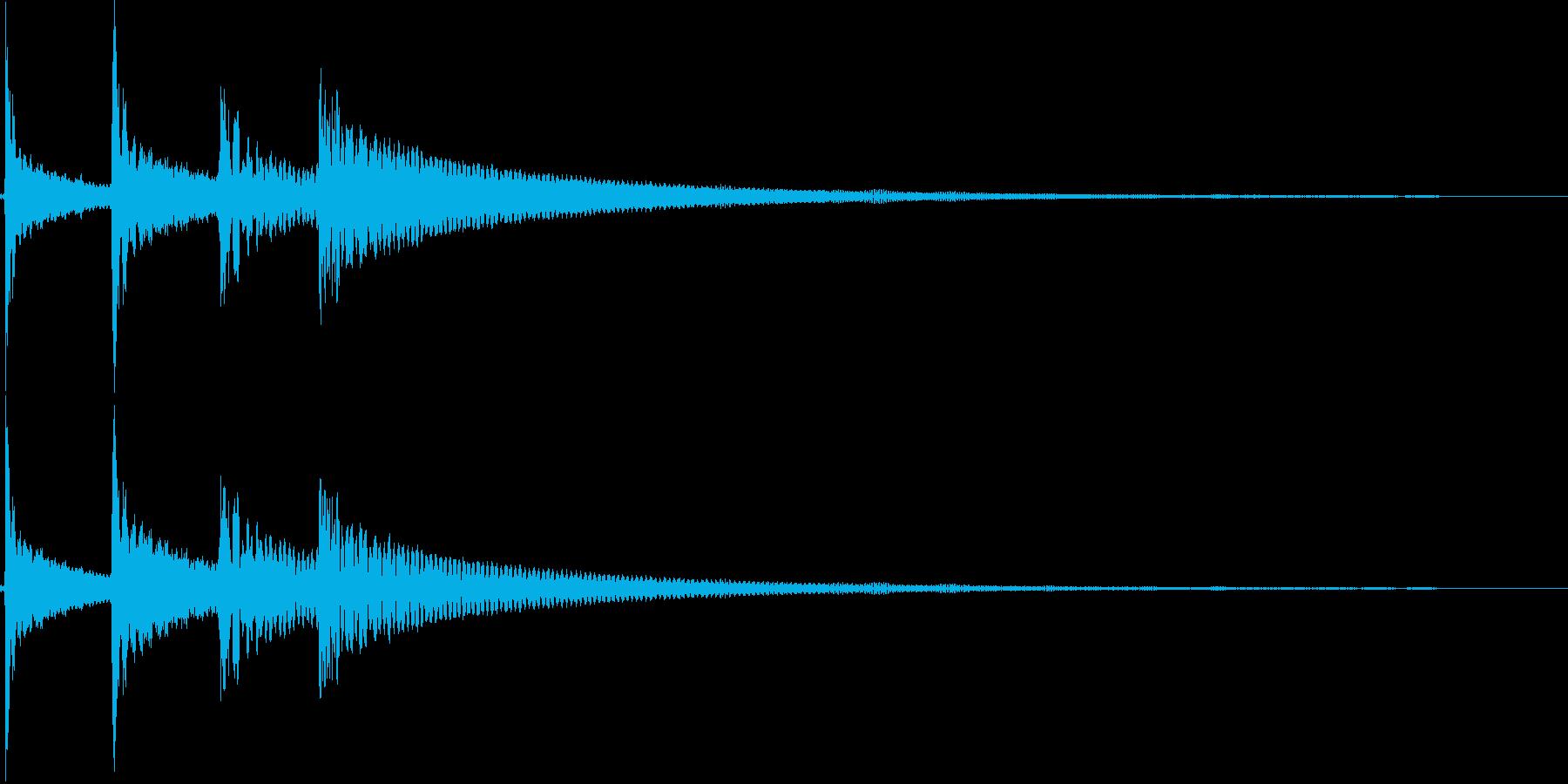 コロロン(決定、出現、回転、結果)の再生済みの波形