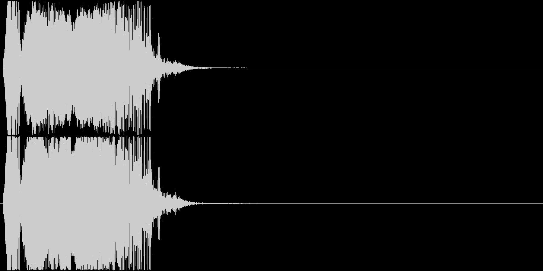 「カモン」アプリ・ゲーム用の未再生の波形