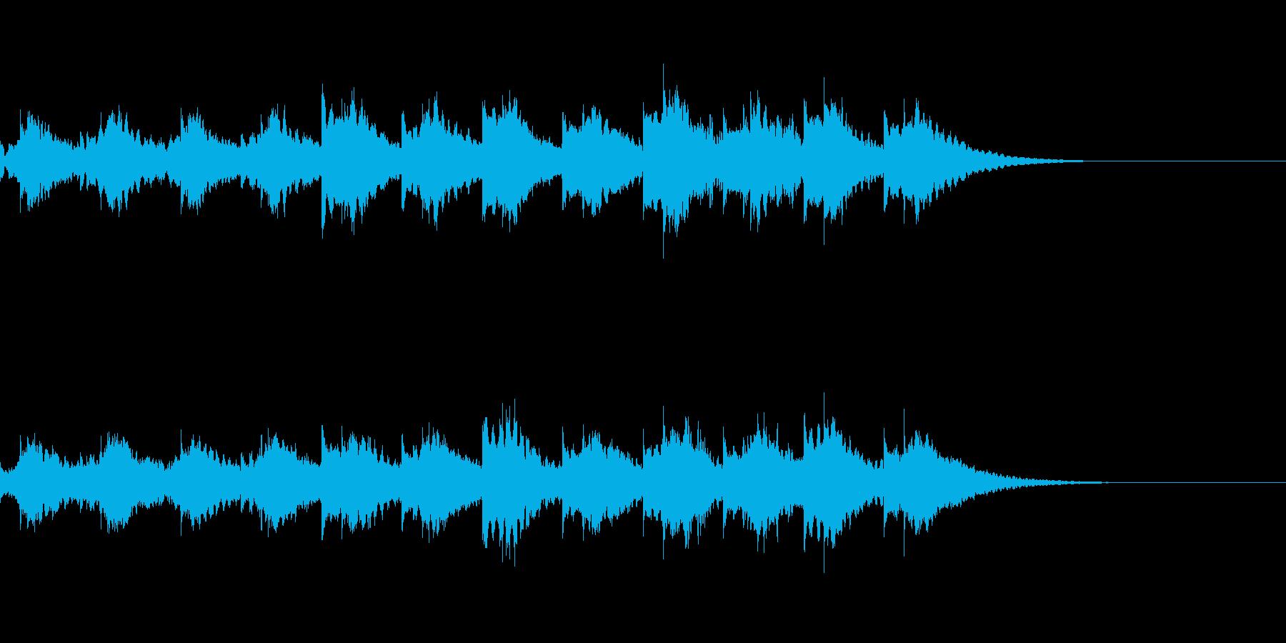 時計の音/チクタク RPG 夜の村の再生済みの波形