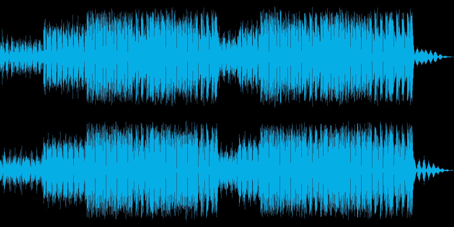 サイバーなラスボス ブレイクビーツEDMの再生済みの波形