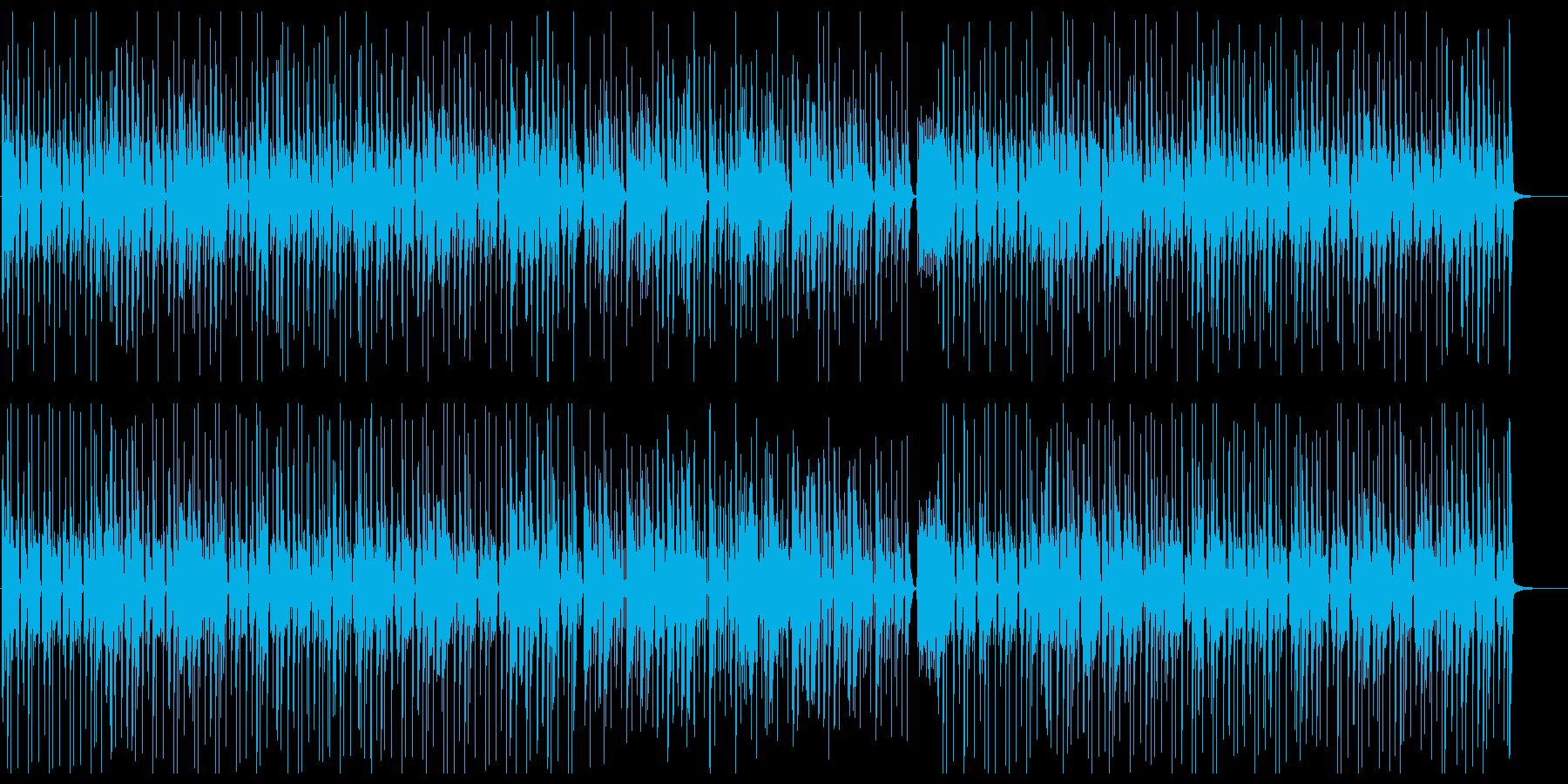ポヨポヨな曲。アコギ生演奏。コミカル。の再生済みの波形