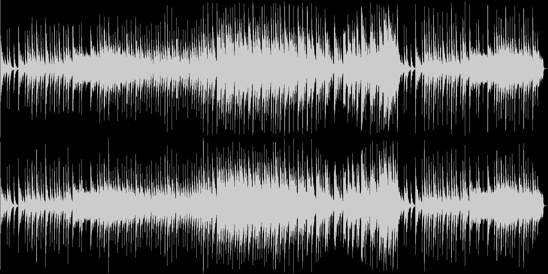 和風なシンセ・三味線サウンドの未再生の波形