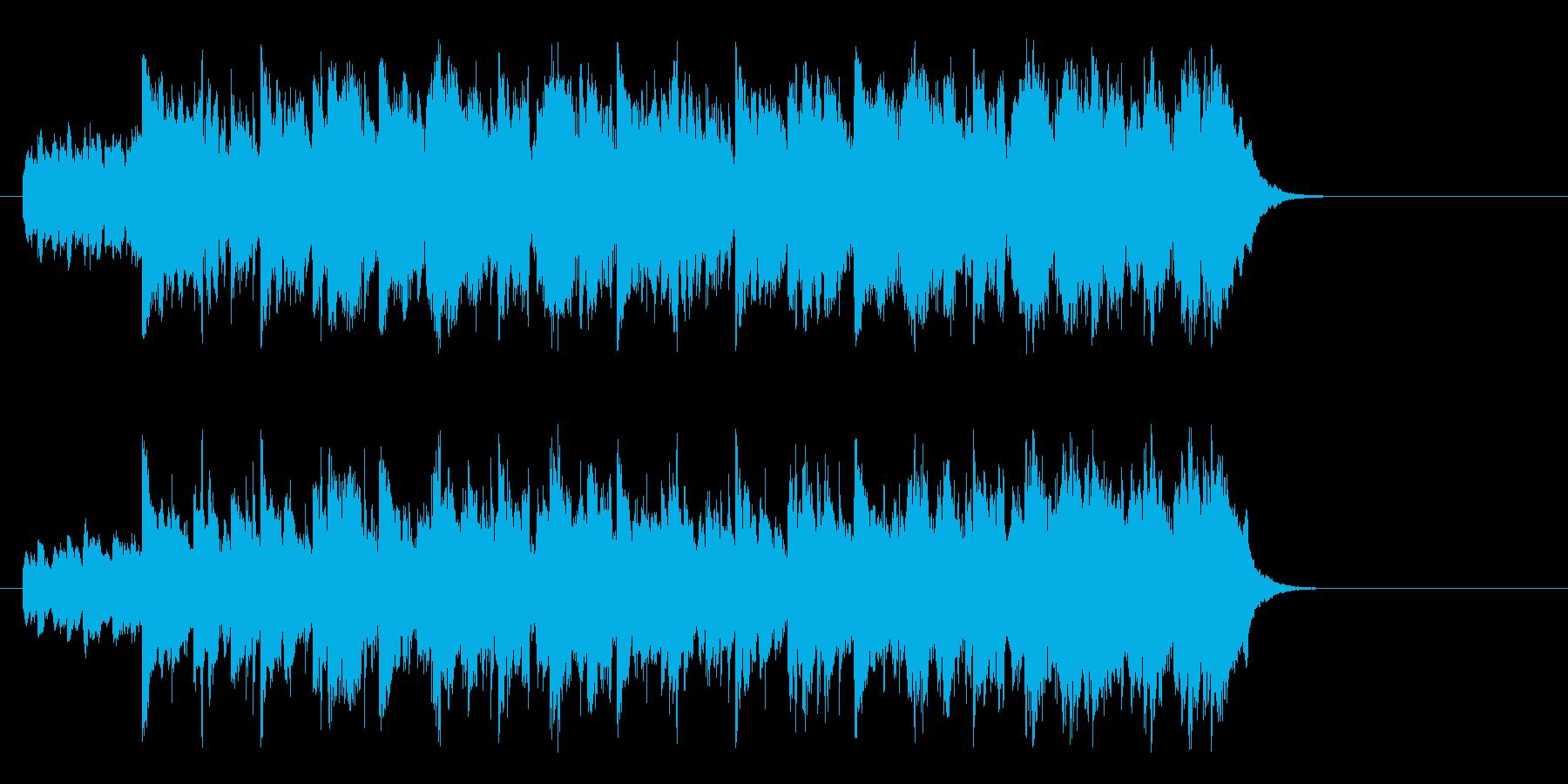 優しいアコースティック(イントロ~A)の再生済みの波形