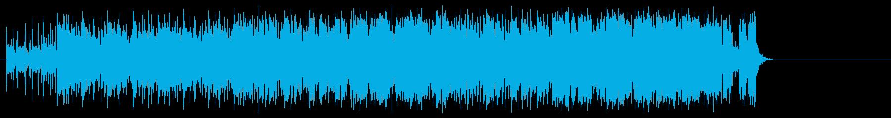 明るいオープニングポップ(イントロ~…)の再生済みの波形
