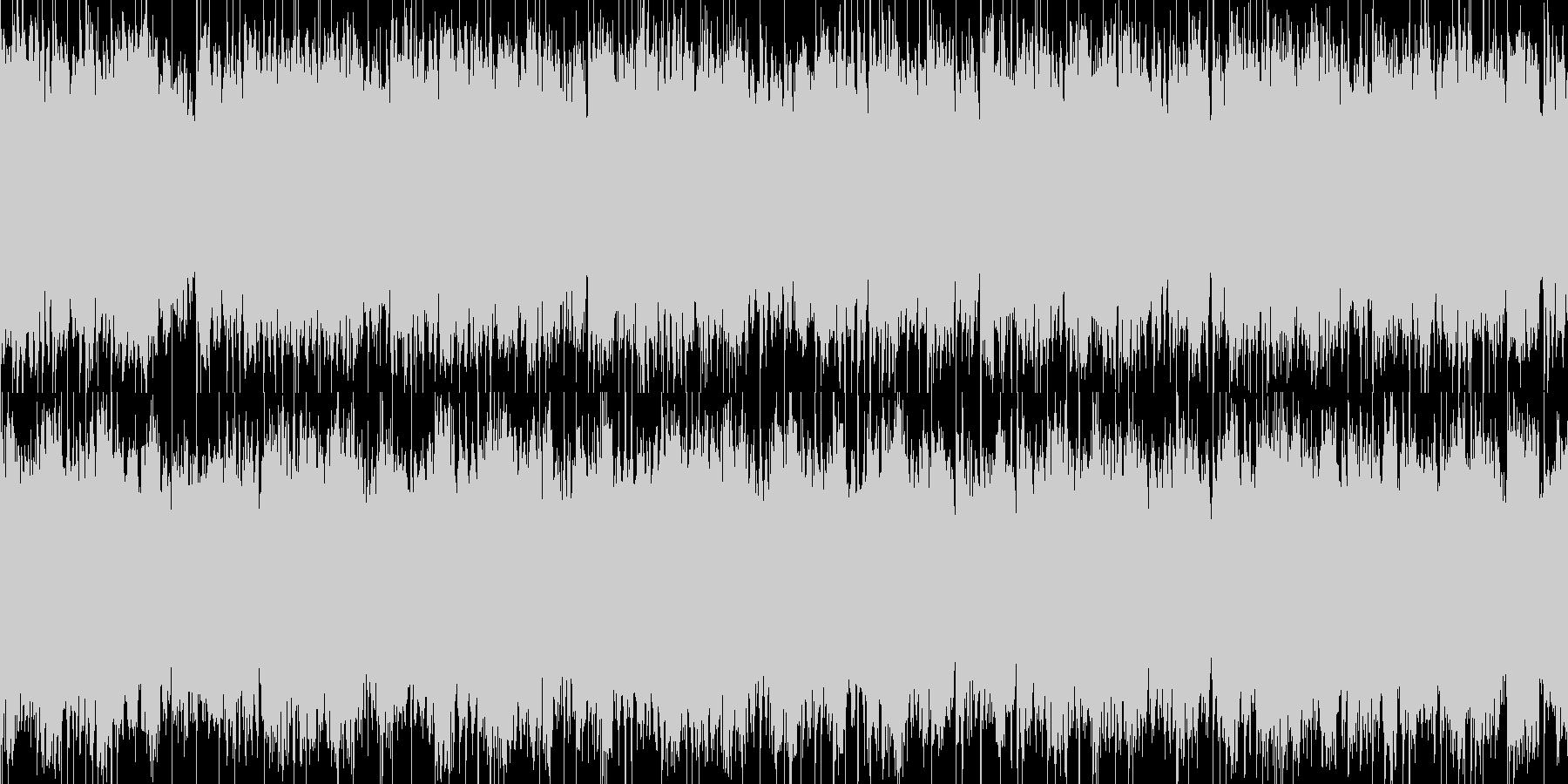 夢に入りそうな眠たいBGMの未再生の波形