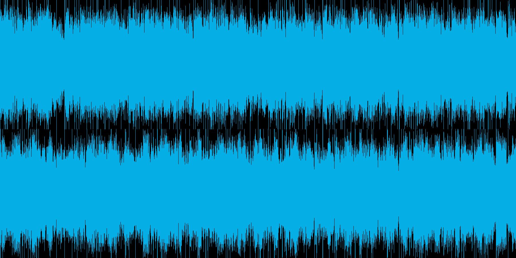 夢に入りそうな眠たいBGMの再生済みの波形