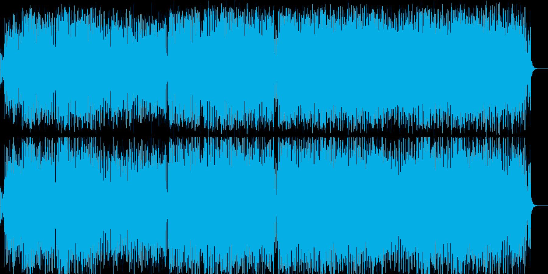 ユーロビート 流行 にぎやか 慌ただしいの再生済みの波形