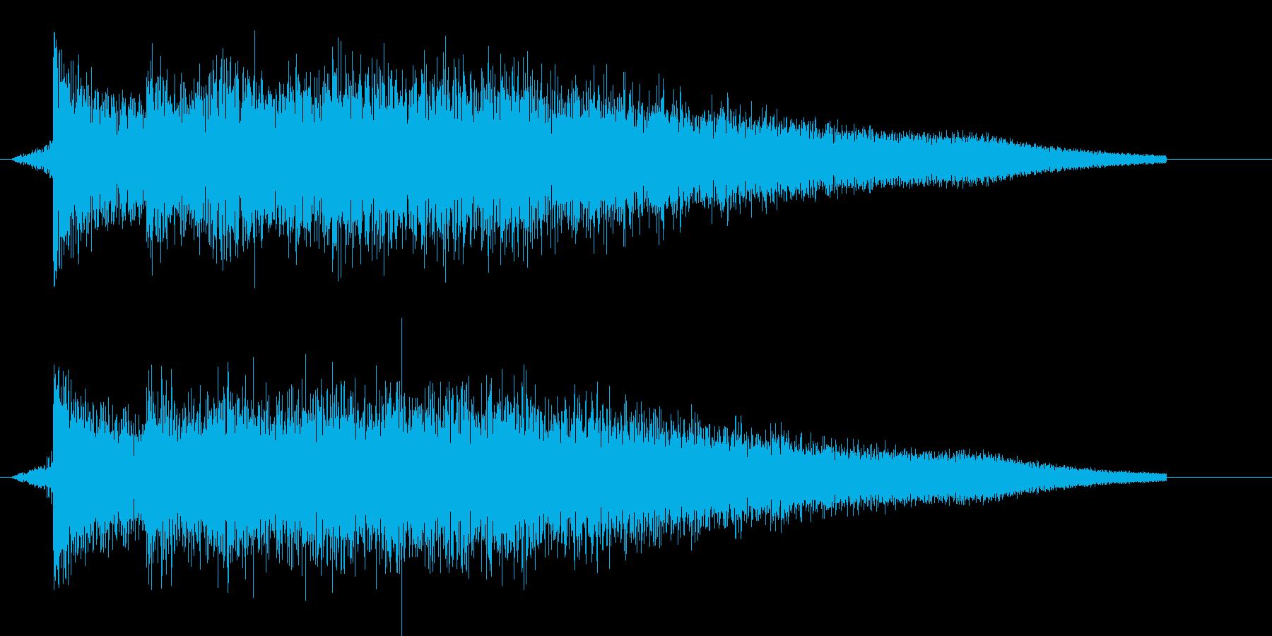 ピロリン(ゲーム、決定)の再生済みの波形
