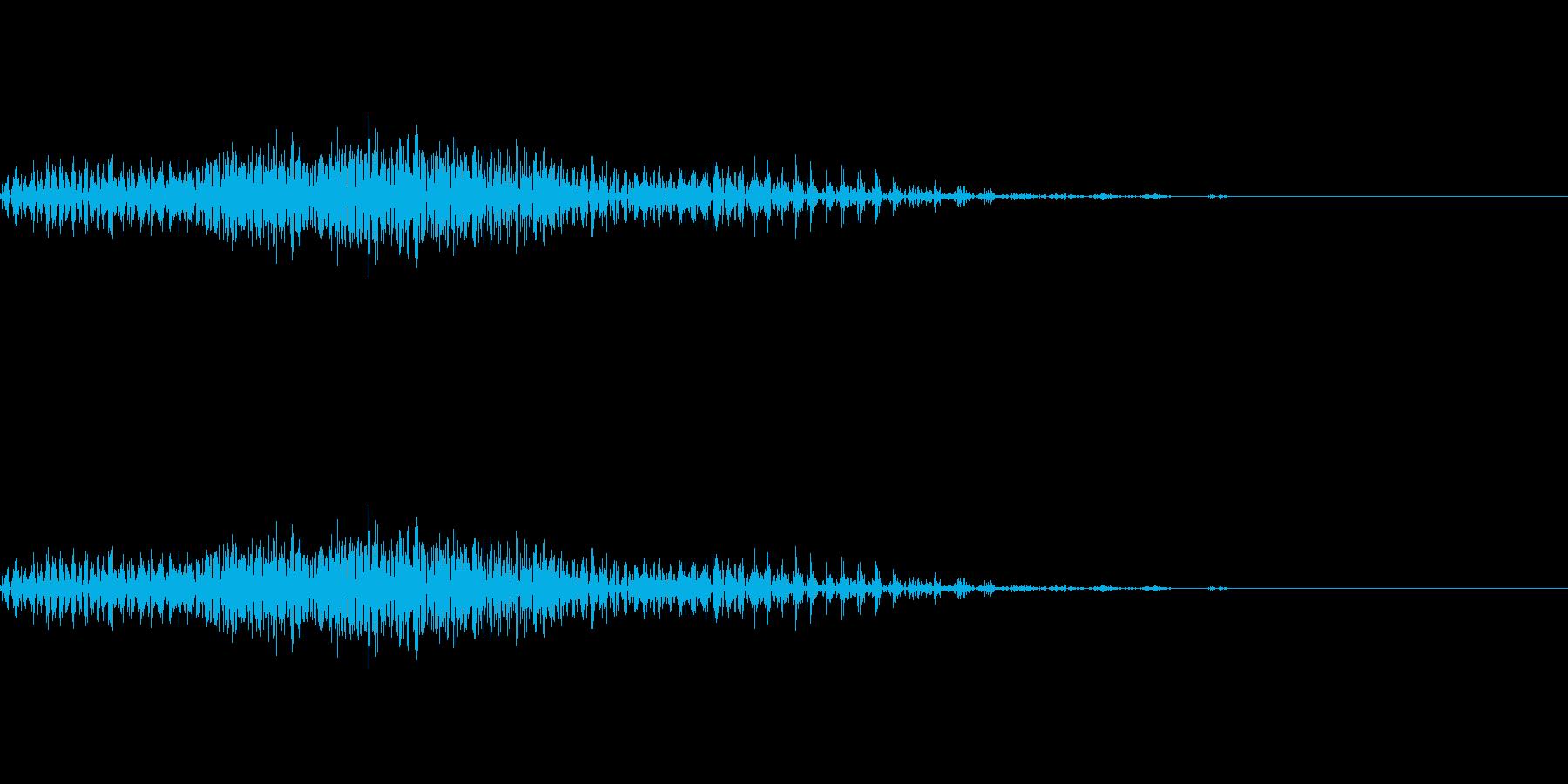 チャック_ファスナー_ジッパー開閉_11の再生済みの波形