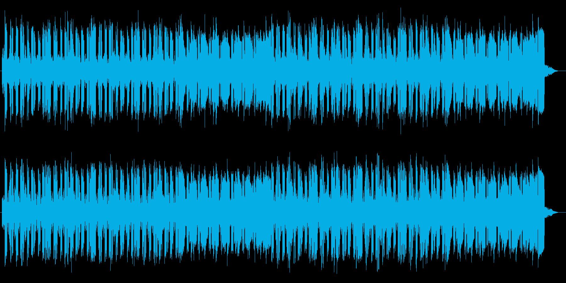壮大なイメージのミュージックの再生済みの波形