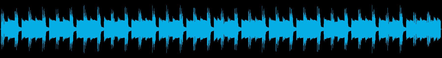 チップチューンの痛快な短いループ2の再生済みの波形