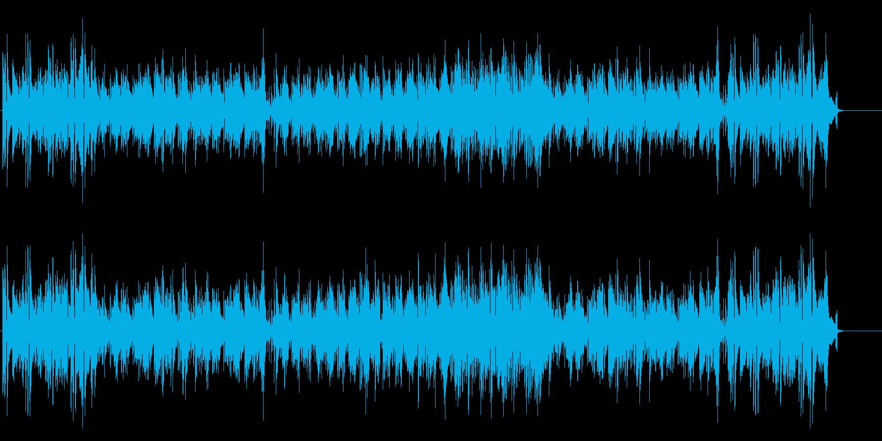 ピュアでアーシーなトリオ・ジャズ風の再生済みの波形