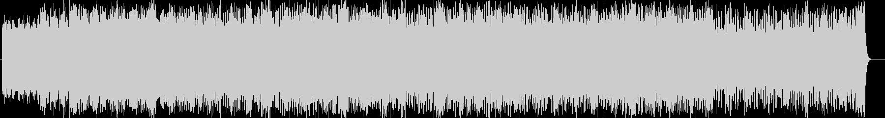 スピード感のあるシンセサイザーサウンドの未再生の波形