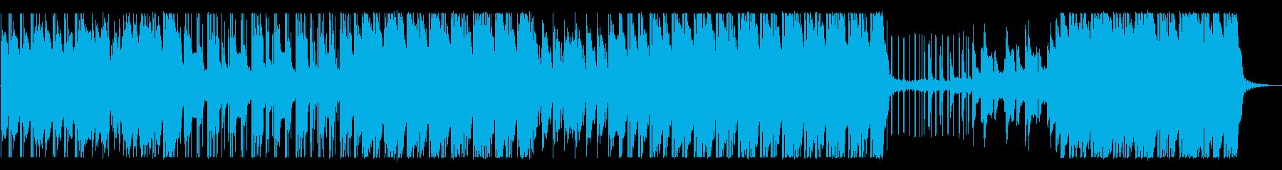 泡が弾けるようなHip-Hop/Beatの再生済みの波形