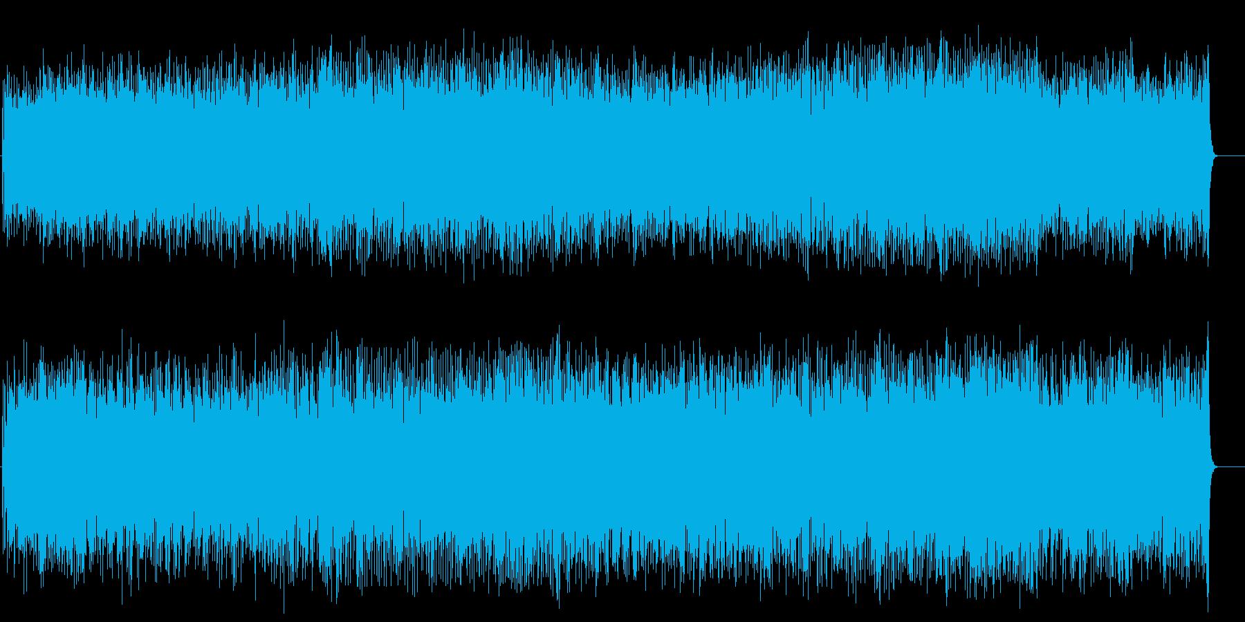 爽やかな歌謡曲風ポップス(フルサイズ)の再生済みの波形