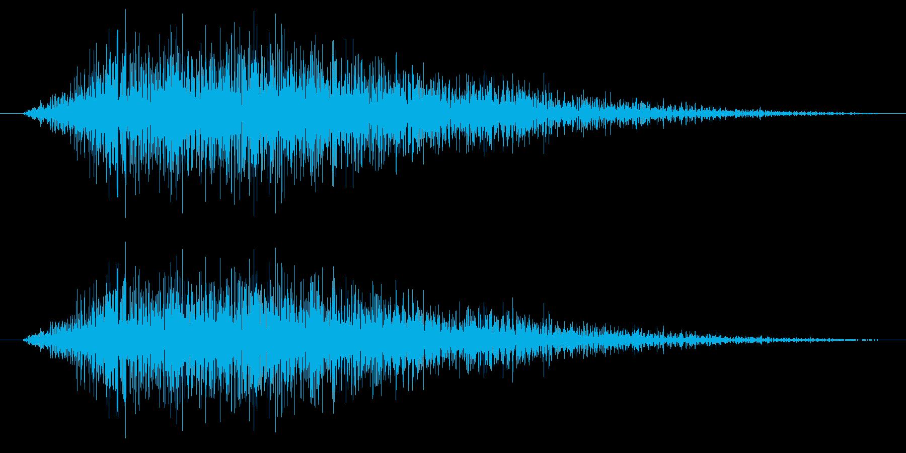 ギューン(金属系効果音)の再生済みの波形