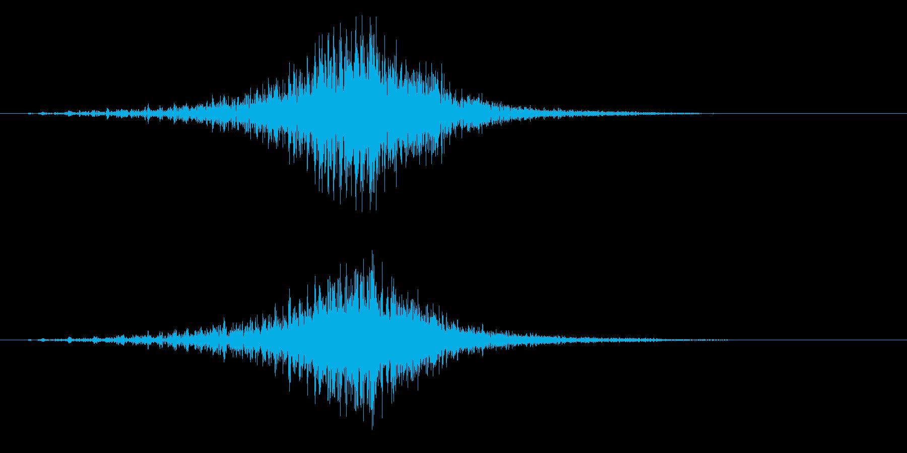 ・・・ドドドドドドン!(発表、太鼓系)の再生済みの波形