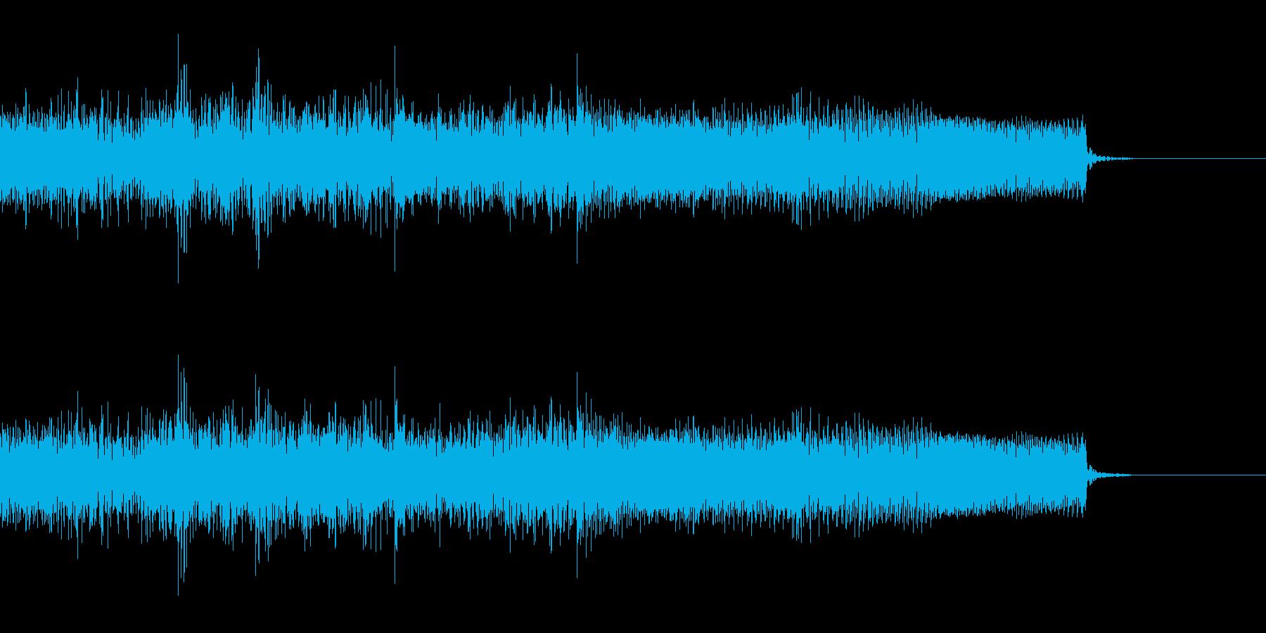 激しいメタルなジングル 戦闘 CMインの再生済みの波形