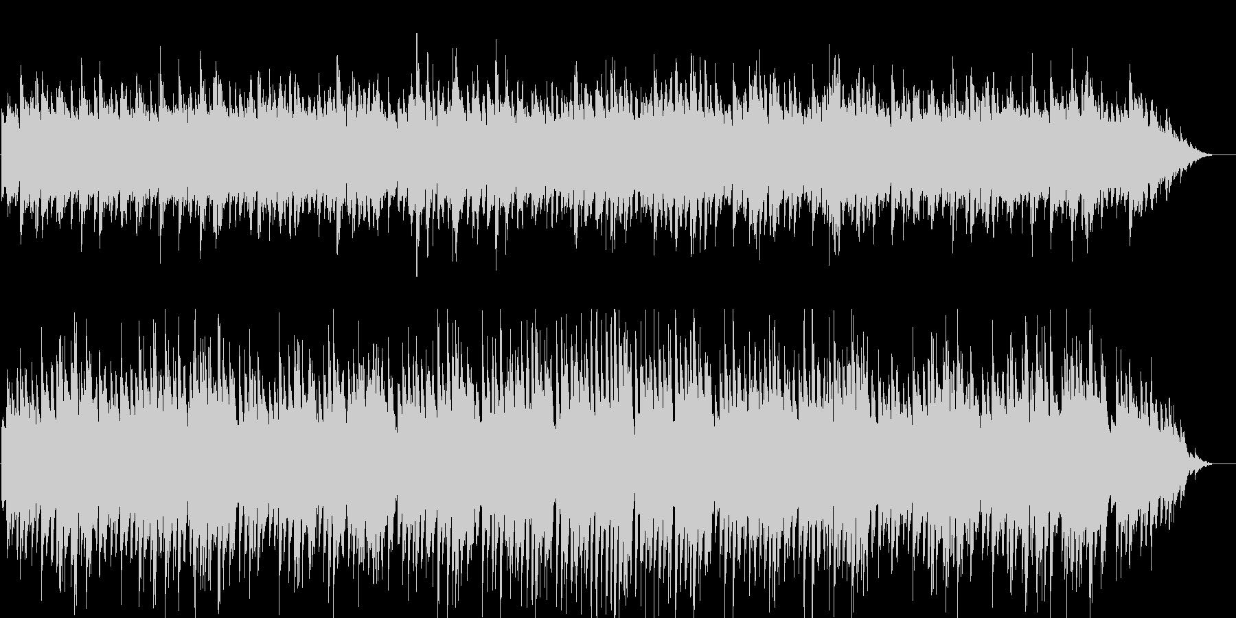 ジャジーで少し切ないピアノインストの未再生の波形