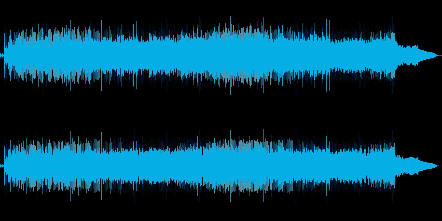 学校のチャイムロックバージョンの再生済みの波形