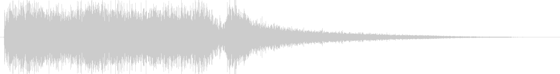 クラシックなイベントロスト曲4の未再生の波形