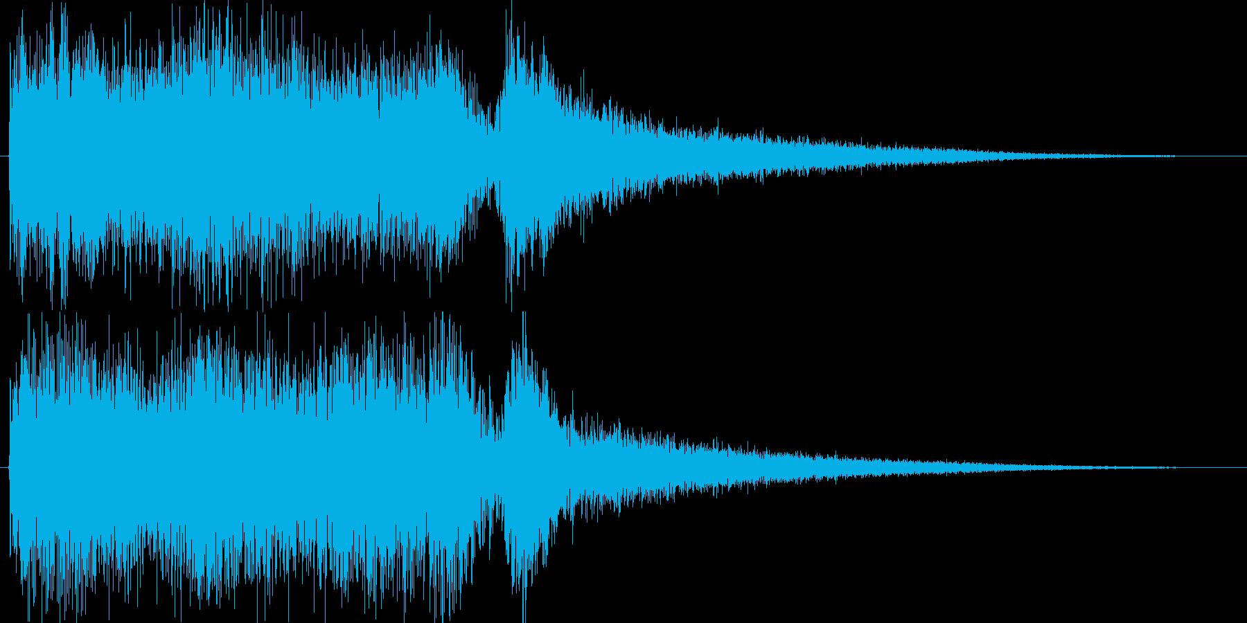 クラシックなイベントロスト曲4の再生済みの波形