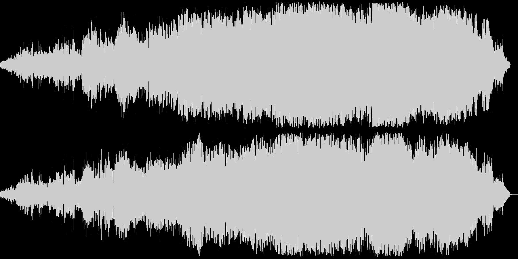 感動的なクラシカルでワールドなサウンドの未再生の波形