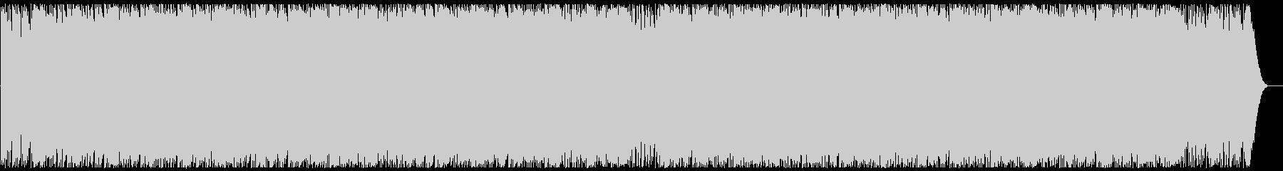 重低音の激しいエレクトロ・ロックの未再生の波形