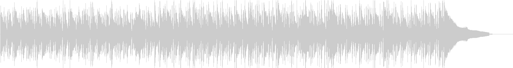 ボサノバ/アコーディオン/のんびり/南国の未再生の波形
