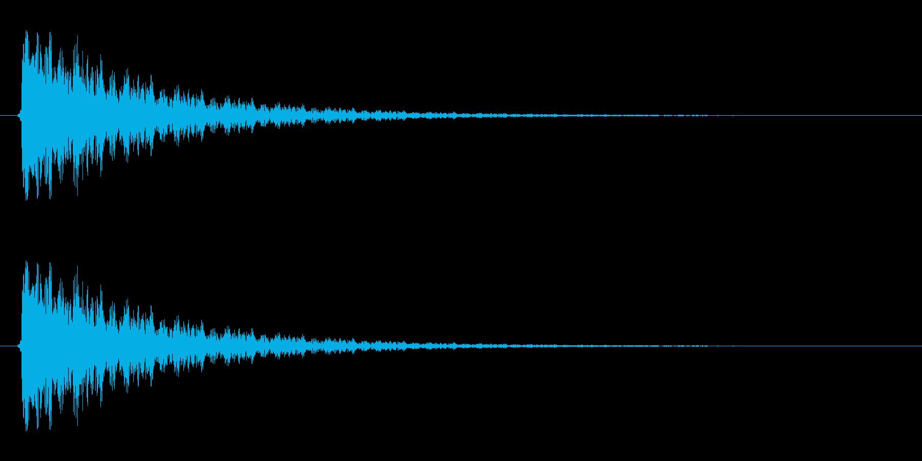 【衝撃05-3】の再生済みの波形