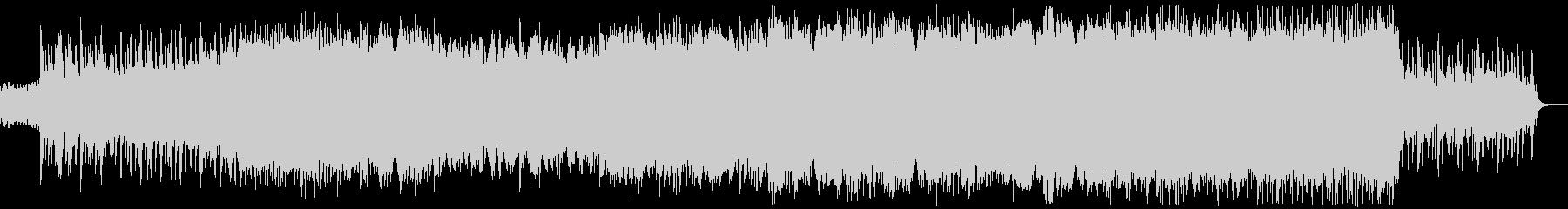 ケルト音楽 バグパイプ 壮大 起承転結の未再生の波形