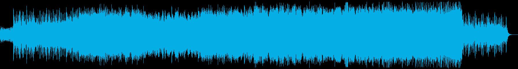 ケルト音楽 バグパイプ 壮大 起承転結の再生済みの波形