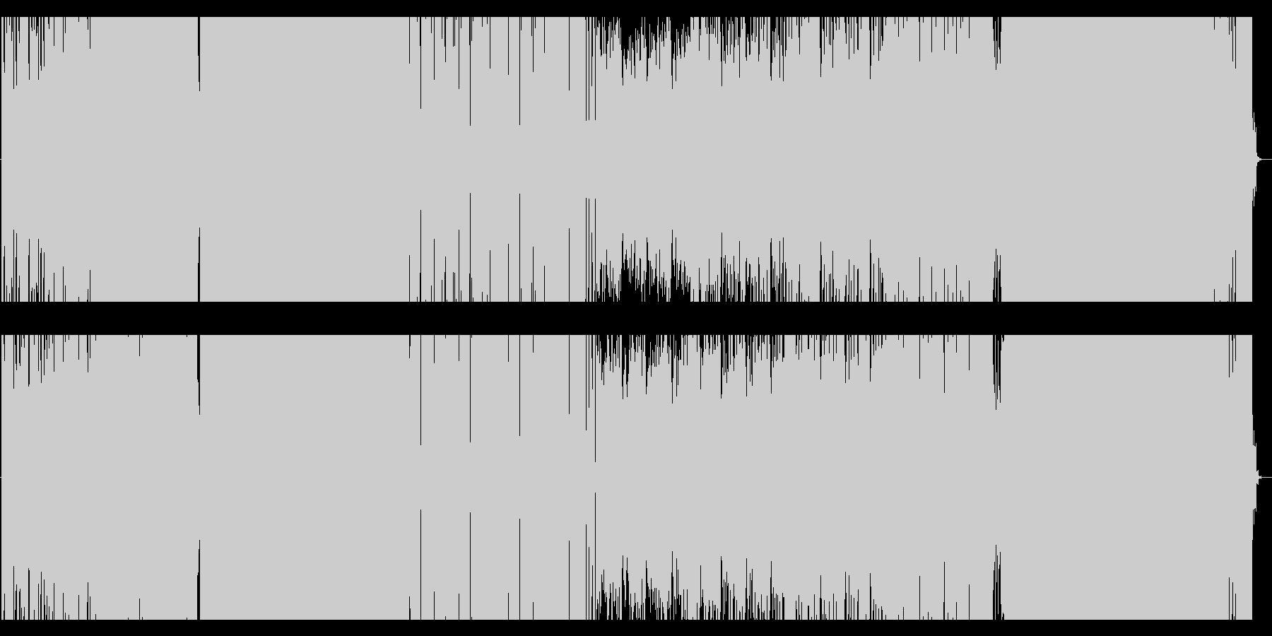 現代的なギターEDMの未再生の波形