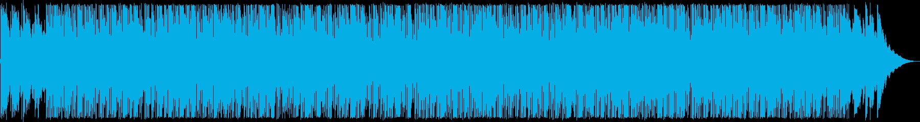 おしゃれなギターサウンドブルース系の再生済みの波形