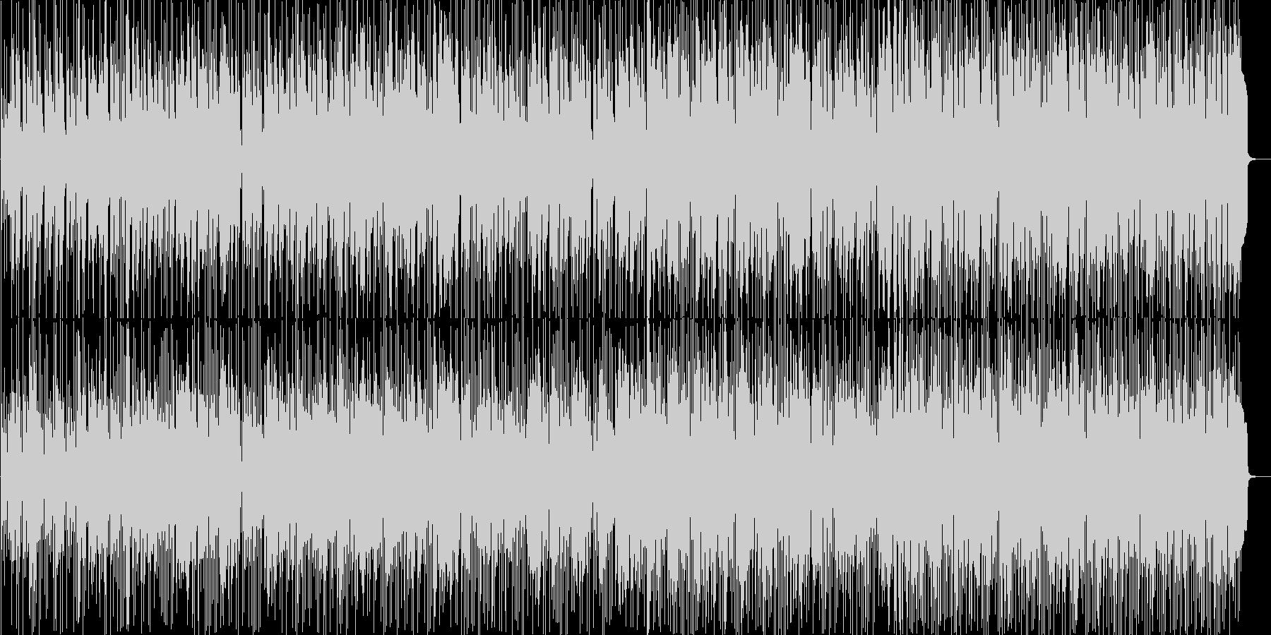 アコギメインの爽やかで軽快なフュージョンの未再生の波形