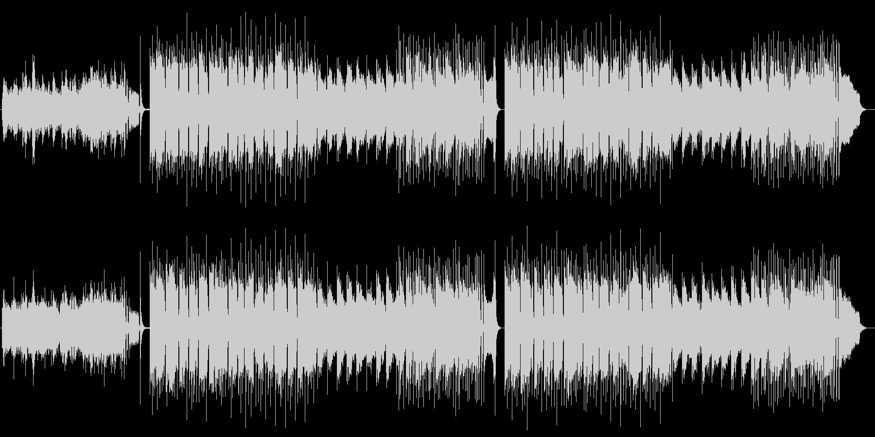 和風ノスタルジーな弦楽器シンセサウンドの未再生の波形