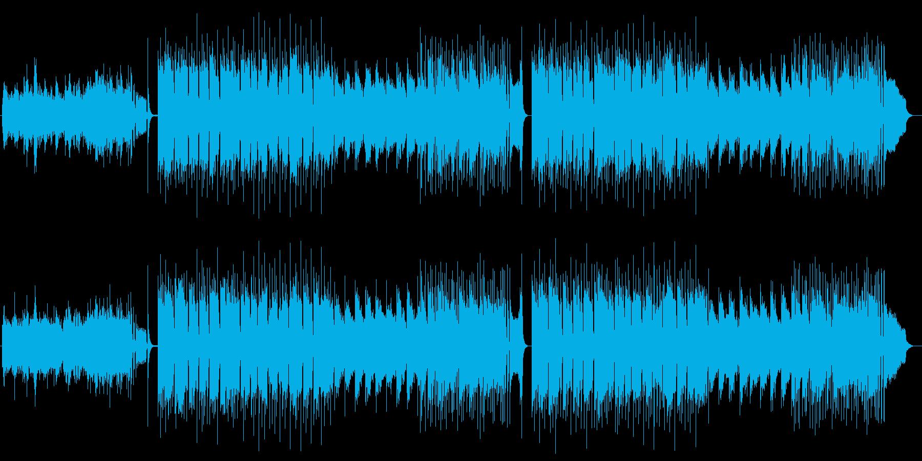 和風ノスタルジーな弦楽器シンセサウンドの再生済みの波形