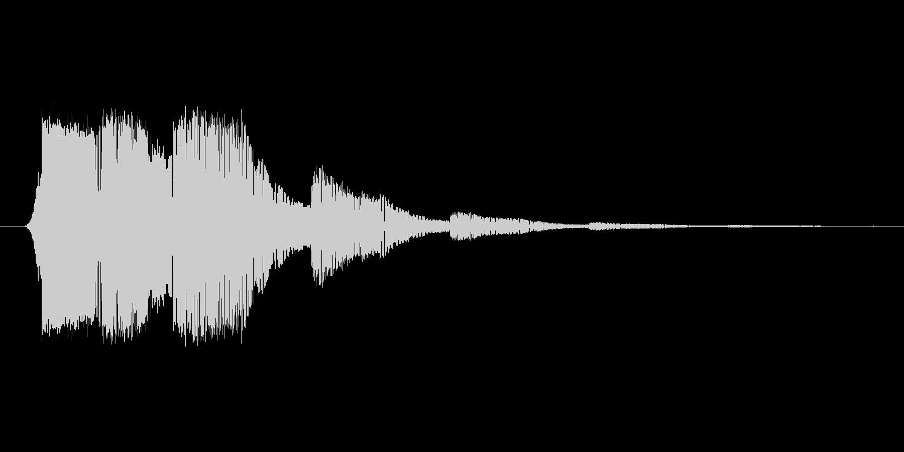 ファミコン風効果音 キャンセル系 02の未再生の波形