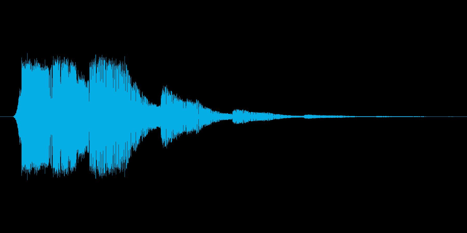 ファミコン風効果音 キャンセル系 02の再生済みの波形
