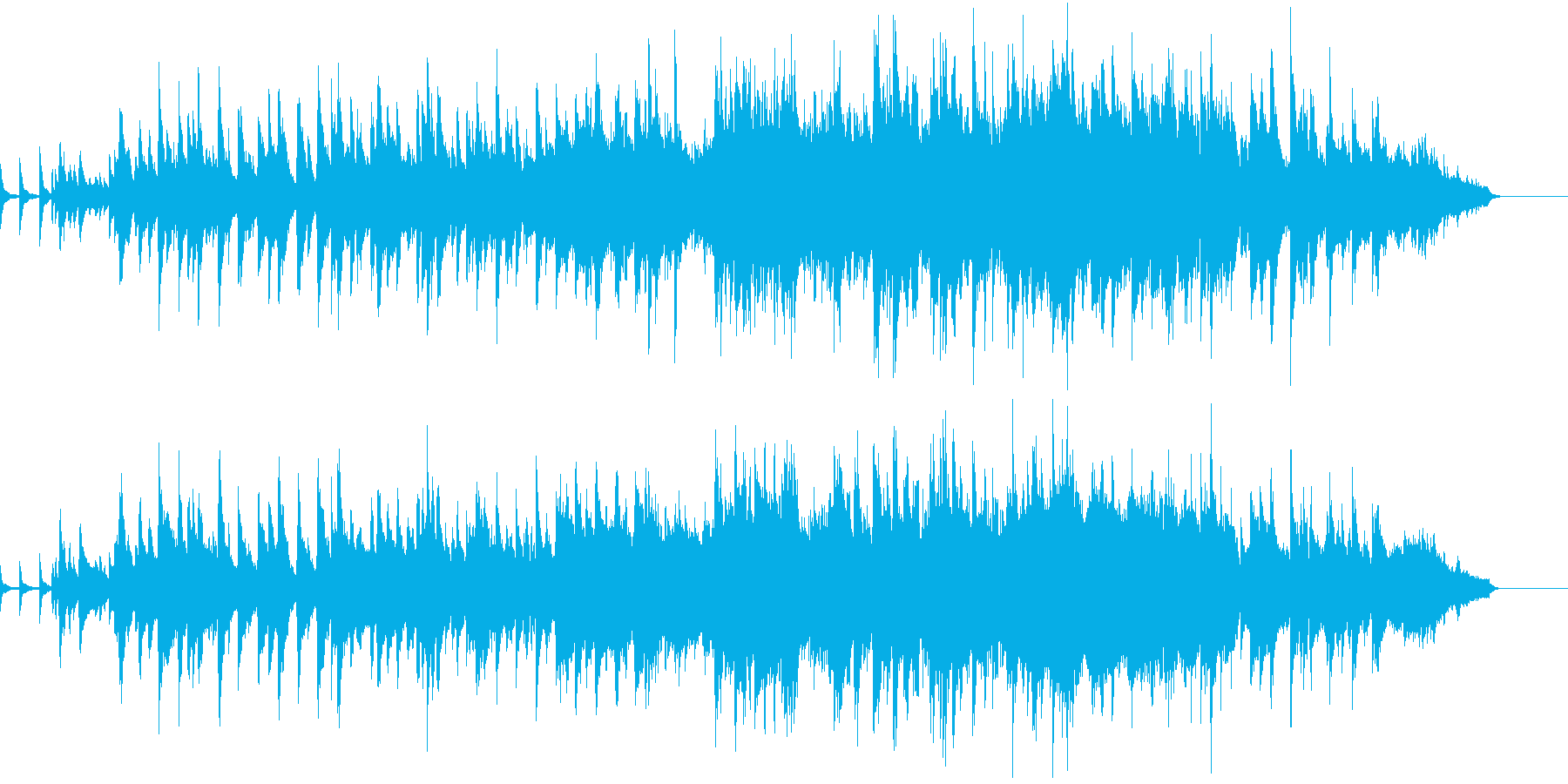 弦の美しい響き優雅なジャズバラードの再生済みの波形