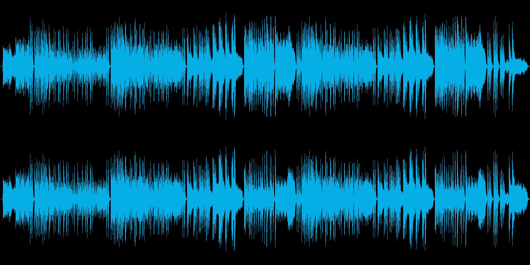 ピアノとバイオリンのみのシンプル曲です…の再生済みの波形