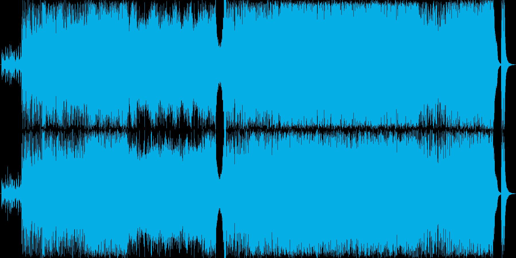 クールさとスピード感。ピアノ&ストリングの再生済みの波形