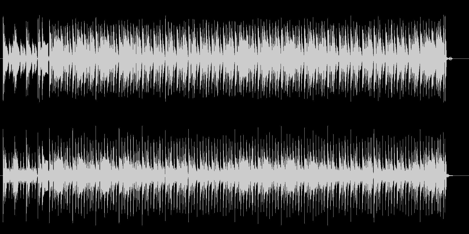 革ジャンが似合うスタンダードなロックの未再生の波形