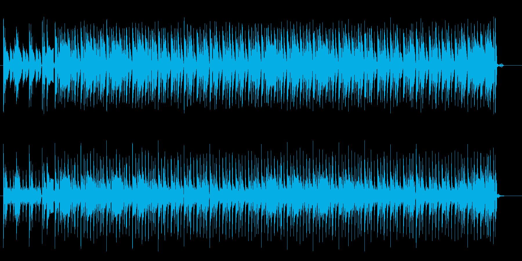 革ジャンが似合うスタンダードなロックの再生済みの波形