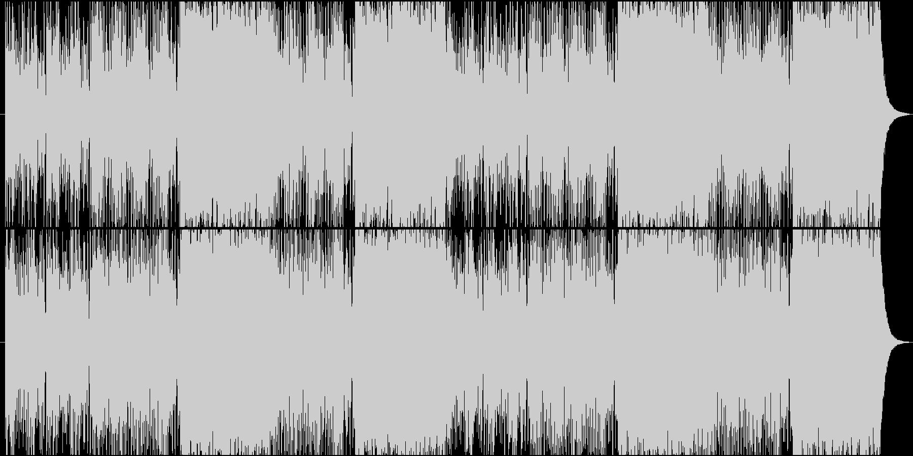 戦闘シーンをイメージした曲.01の未再生の波形