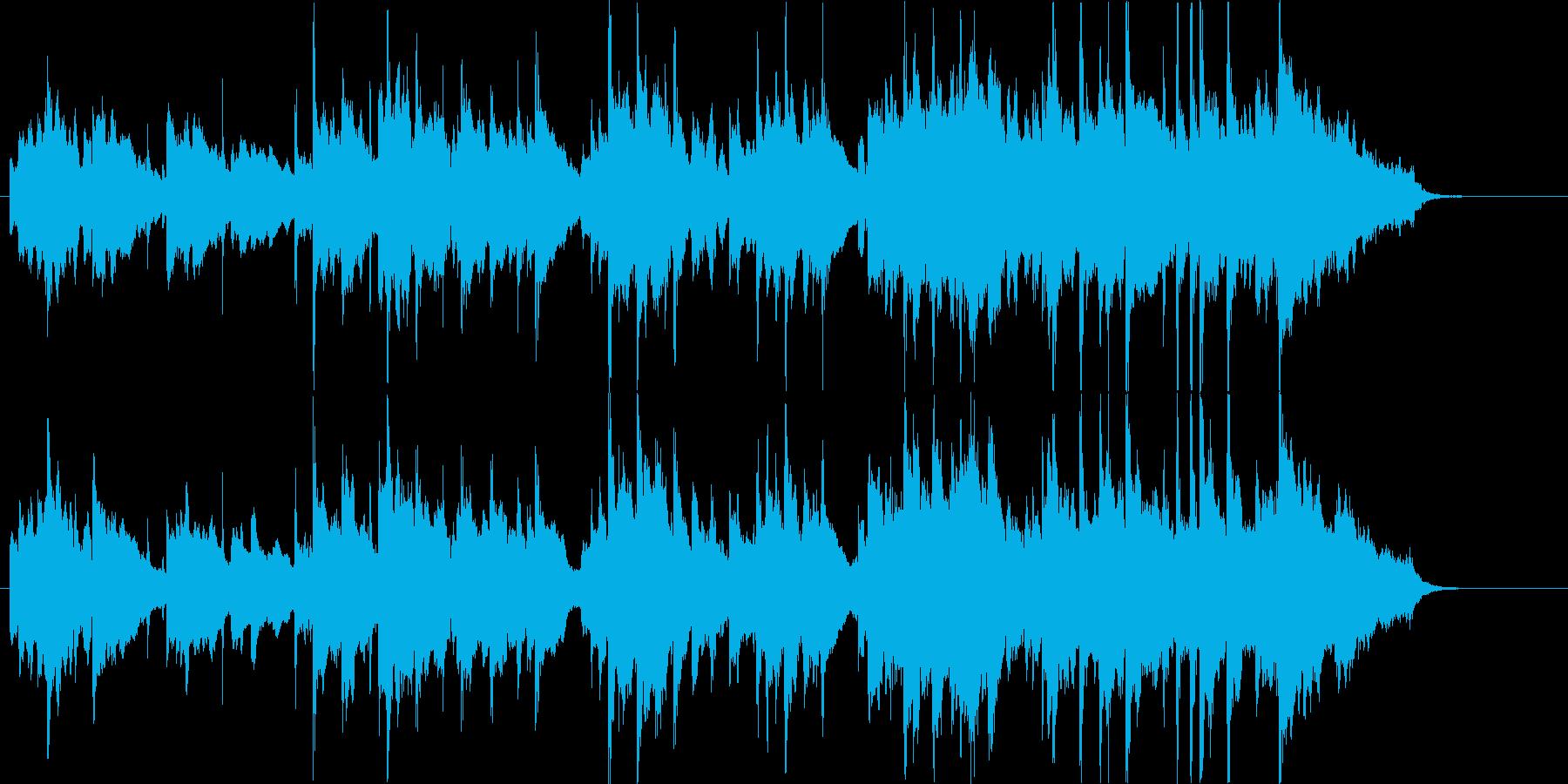 甘く切ないバラードの再生済みの波形